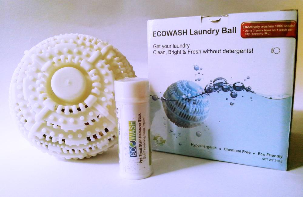 ecowash ecoball white